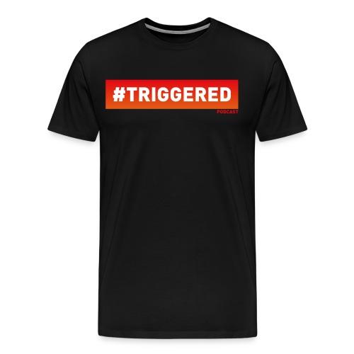 Triggered Large Logo T - Men's Premium T-Shirt
