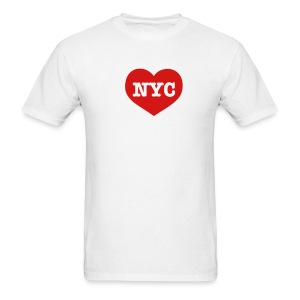 Heart NYC Men's T-Shirt - Men's T-Shirt