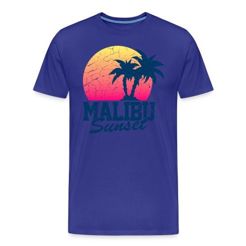 Men's Malibu Tee - Men's Premium T-Shirt
