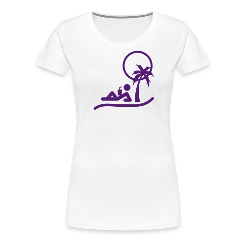 Women's Sun Sand and Sip Premium Tee - Women's Premium T-Shirt