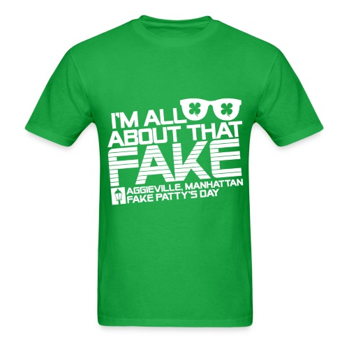 Mens All About That Fake 2.0 Tee - Men's T-Shirt