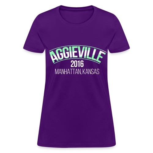 Aggieville Lady's Tee - Women's T-Shirt