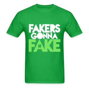 Mens Fakers Gonna Fake Graphic Tee - Men's T-Shirt