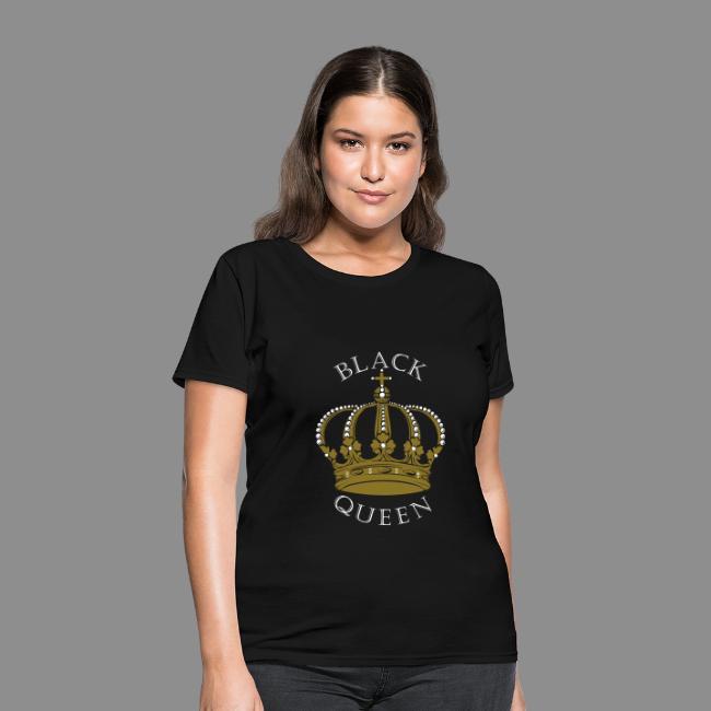 Black Queen Crown T-shirt 9eeeee704