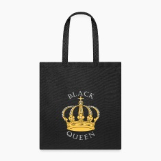 Black Queen Crown Bags & backpacks