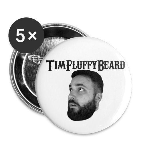 TimFluffyBeard Pin Set - Small Buttons