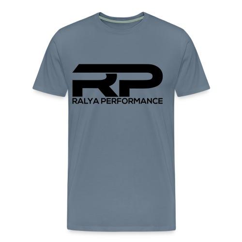 Ralya Performance Tee- Black Logo  - Men's Premium T-Shirt