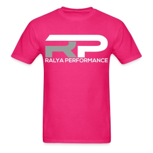 Ralya Performance Tee- Grey/White Logo  - Men's T-Shirt