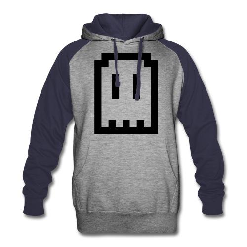 Ghost Logo Hoodie - Colorblock Hoodie