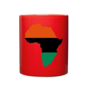 Red Afrika Mug  - Full Color Mug