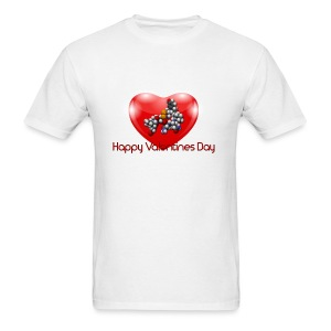 Valentines Day- NERDY MENS SHIRT - Men's T-Shirt