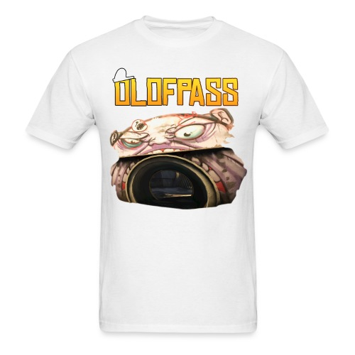 OLOFPASS + MONSTER CS:GO T-SHIRT MEN - Men's T-Shirt