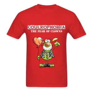 Coulrophobia - The Fear of Clowns - Men's T-Shirt