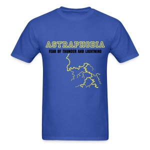Astraphobia - The Fear of Thunder and Lightning - Men's T-Shirt