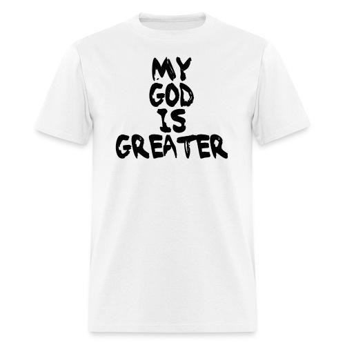 Men's Black on White - Men's T-Shirt