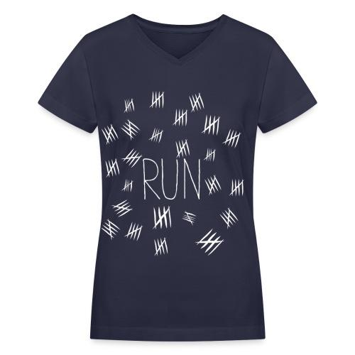 Silence will Fall - Women's V-Neck T-Shirt