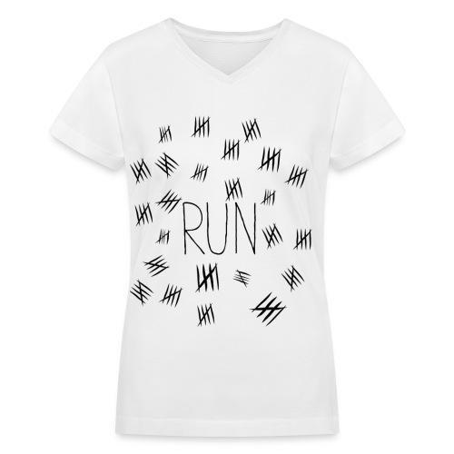 Silence Will Fall-Black - Women's V-Neck T-Shirt