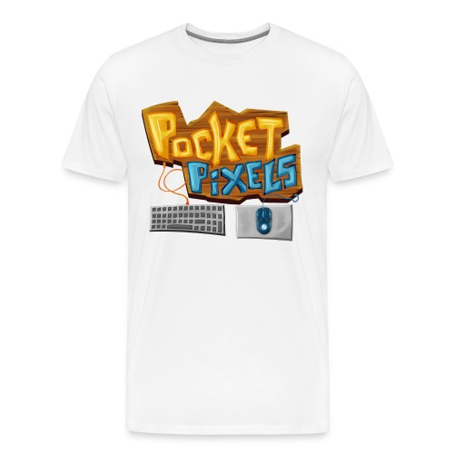 PocketPixels Essentials - Men's Premium T-Shirt