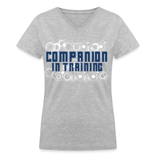 Companion in Training - Women's V-Neck T-Shirt