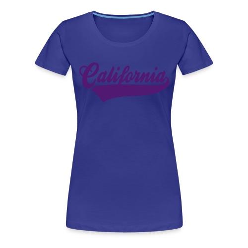 Womens Velvet California Premium Tee - Women's Premium T-Shirt