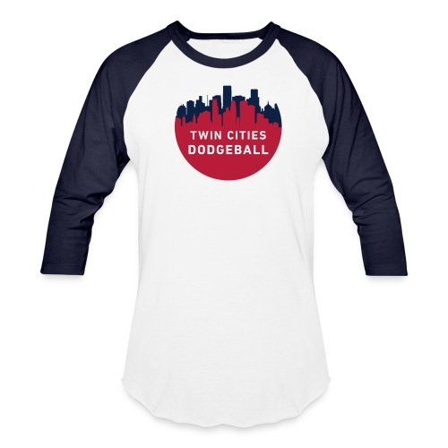 TCDB 3/4 blue sleeve - Baseball T-Shirt