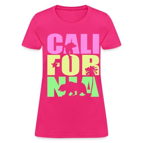 Cali Line Up - Women's T-Shirt