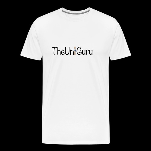 'TheUniGuru'  - Men's Premium T-Shirt
