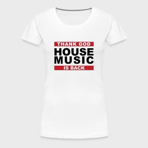 T-Shirt Women White - Women's Premium T-Shirt