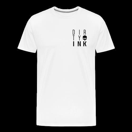 Mens Everyday Cubed Tee - White - Men's Premium T-Shirt