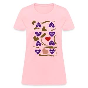 Jensen's Valentines - Women's T-Shirt