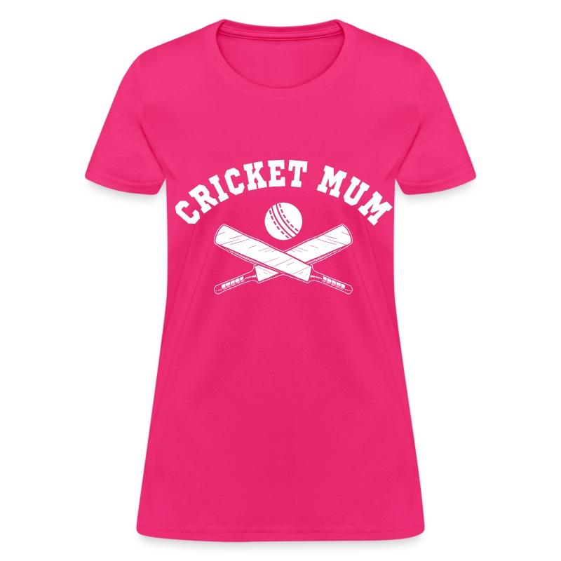 Cricket Mum T Shirt Spreadshirt