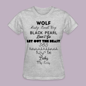 Lost Planet Album T - Women's T-Shirt