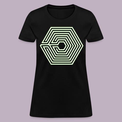 OVERDOSE - Glow In The Dark - Women's T-Shirt