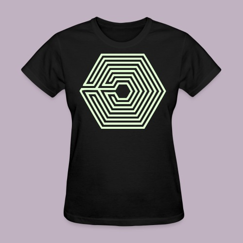 OVERDOSE - Glow In The Dark - Women's T-Shirt