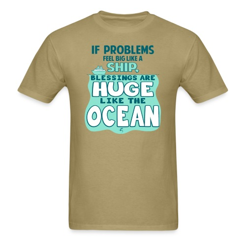 Problems & Blessings - Men's T-shirt - Men's T-Shirt