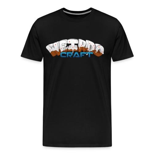 WeirdoCraft Logo - Men's Premium T-Shirt