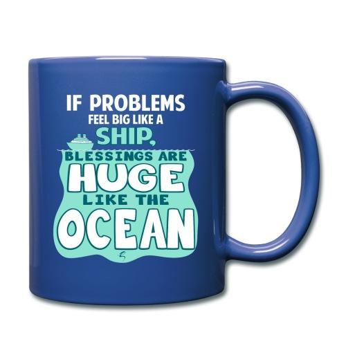 Problems & Blessings - Ceramic Mug - Full Color Mug