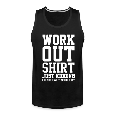 Workout shirt tank top spreadshirt for Design your own workout shirt