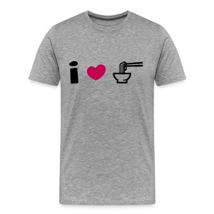 I Love Ramen T-Shirt - Men's Premium T-Shirt
