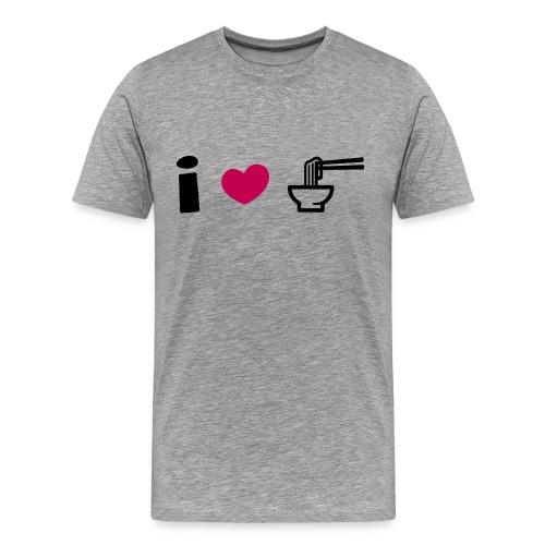 I Love Ramen T-Shirt - Men's Premium T-Shirt