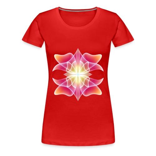 The Redish Light - Women's Premium T-Shirt