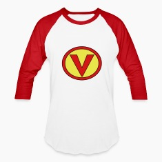 Super, Hero, Heroine, Initials, Super V T-Shirts