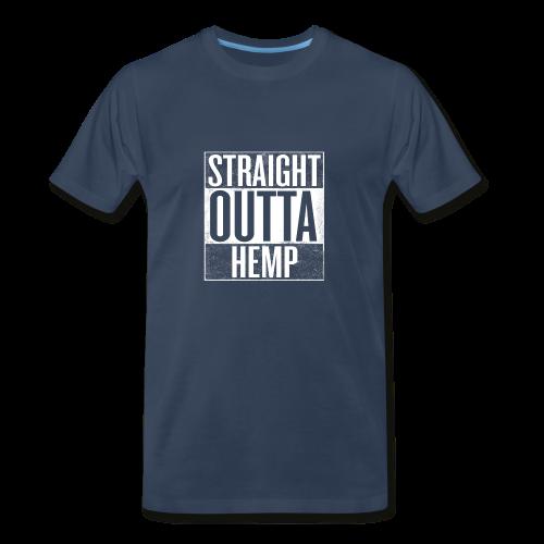 Men's T - Straight Outta Hemp - Men's Premium T-Shirt