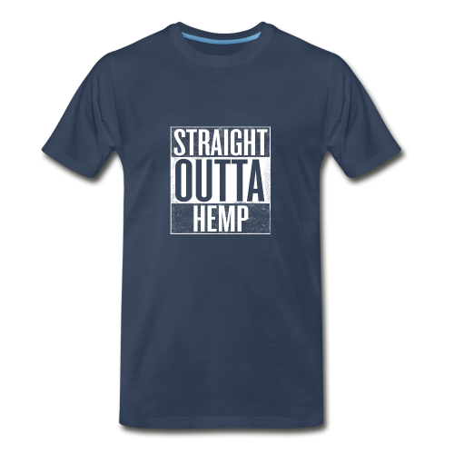 Men's T - Straight Outta Hemp - Men's Premium T-Shirt