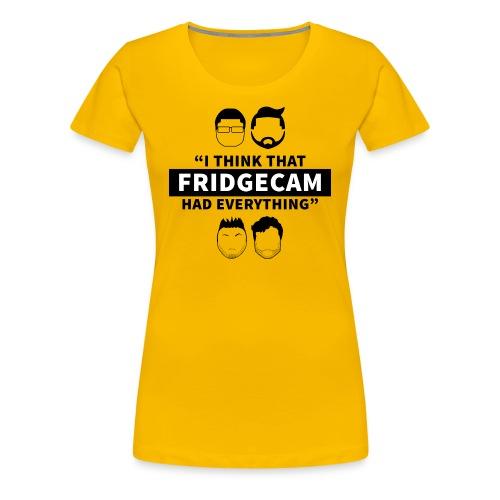 FridgeCam (Ladies) - Women's Premium T-Shirt