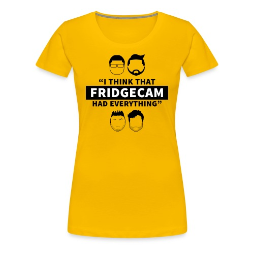 FridgeCam (Ladies) - Women's Premium T-Shirt