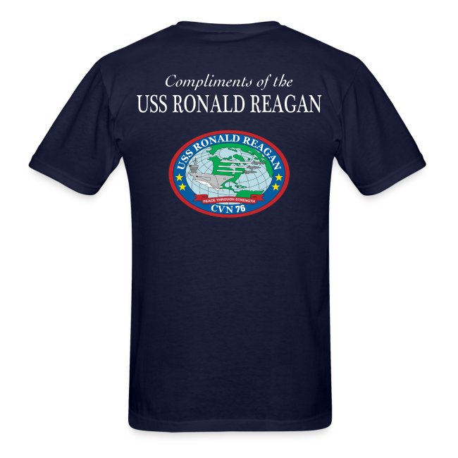 USS Ronald Reagan GOT FREEDOM SHIRT - Battle Flag Edition