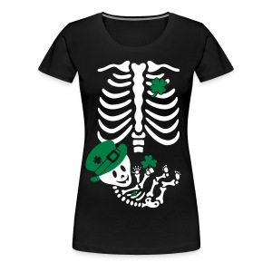 St. Patrick's Skelly Baby / non maternity - Women's Premium T-Shirt