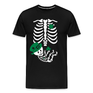 T-Shirts ~ Men's Premium T-Shirt ~ St. Patrick's Skelly Baby / non maternity