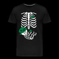 T-Shirts ~ Men's Premium T-Shirt ~ St. Patrick's Skelly Baby / non maternity